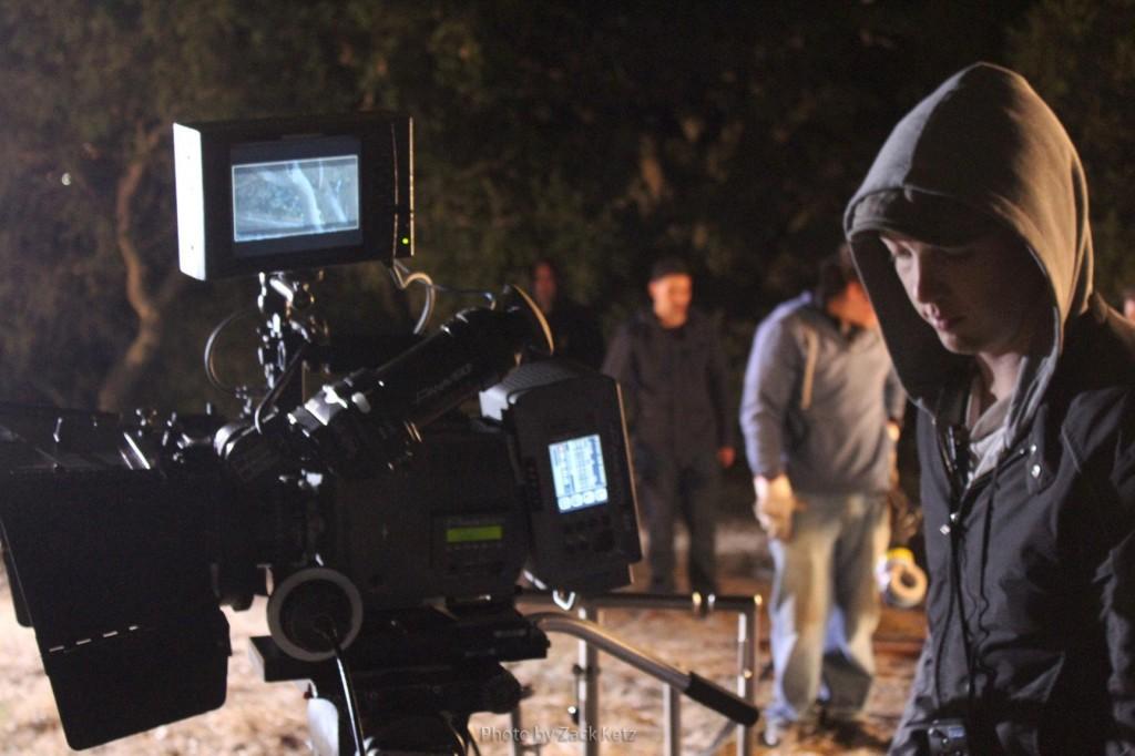 Jeremy On Set